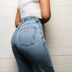 Rare Vintage Guess High Waisted Mom Jean